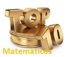 Top 10 Matemáticos da História