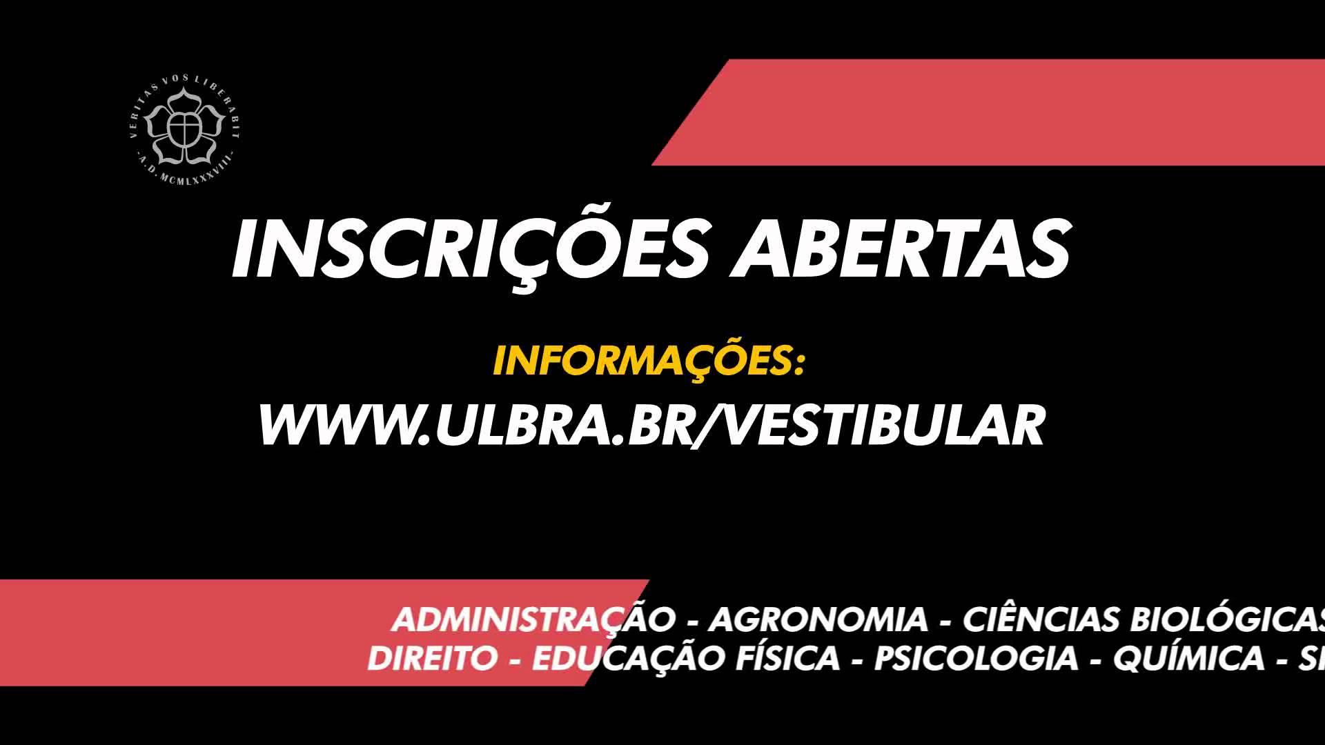 Ulbra abre inscrições para vestibular com 15 novos cursos no RS