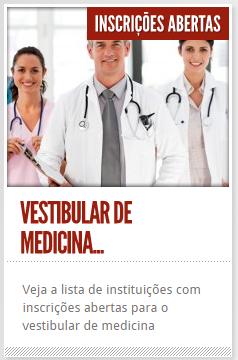 Calendário de Provas - Vestibular para Medicina