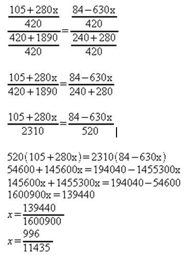 como calcular equação do 1º grau