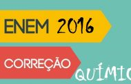 Prova Enem 2016 Resolvida - Química
