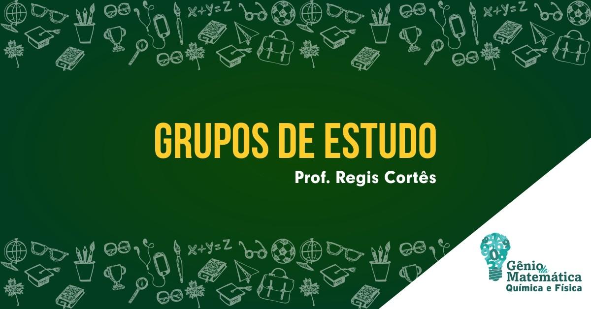 Grupos de estudo de Matemática Física e Química