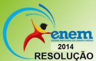 Prova Enem 2014 - Resolução